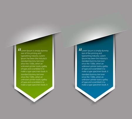 label: Hoeken ontwerp element geïsoleerd op witte achtergrond, vector illustratie