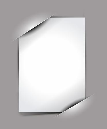 empty pocket: El marco compuesto de fotos vac�o, con lugares para la foto, eps10 de vectores de fondo