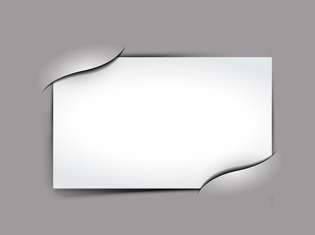 Composite empty photo frame with places for photo, background  Vector