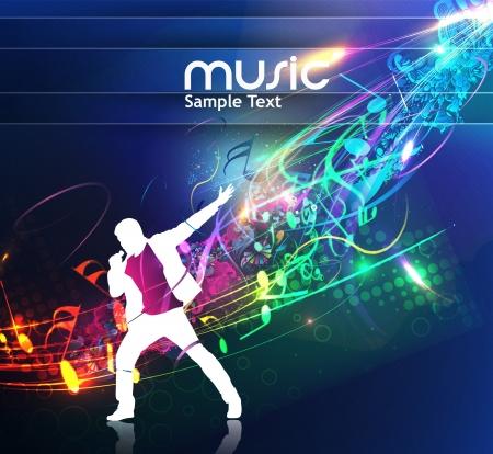 baile moderno: dise�o de la m�sica abstracta para uso de m�sica de fondo