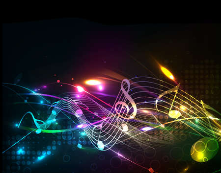 abstract music: abstract music design for music background use
