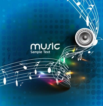 abstract music: abstracte muziek nota ontwerp voor achtergrondmuziek gebruik