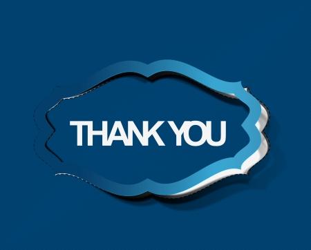 thanks you: thanks you sticker design illustration.  Illustration