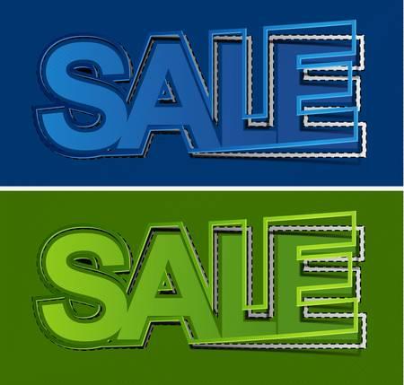 reduction: shop sale elements design concept.
