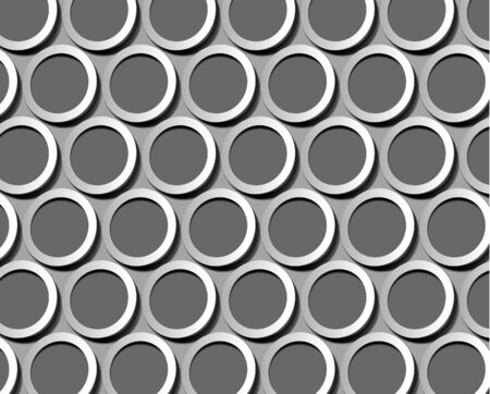 Abstract seamless patterns blocks circle design Stock Vector - 14576469