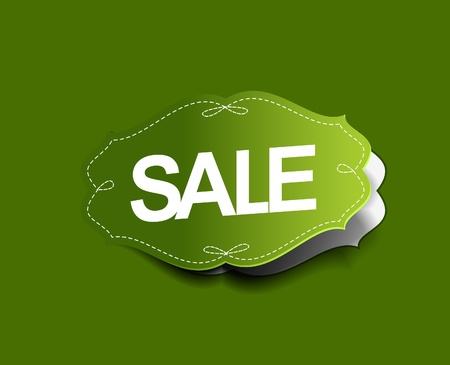 Sale stickers design Illustration  Vector