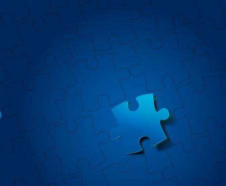 vector peel off puzzle pattern design  Vector