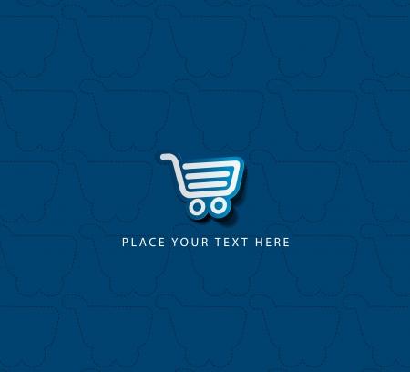 ショッピング カート アイテムをベクター - 購入] ボタン
