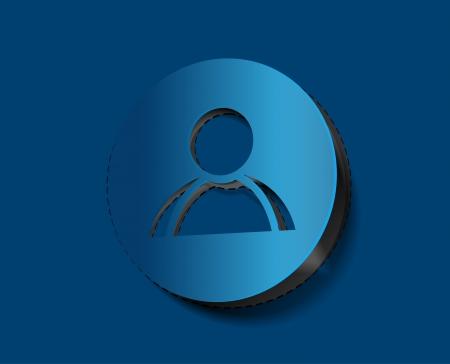 matrimonial: vector user web icon design element.  Illustration