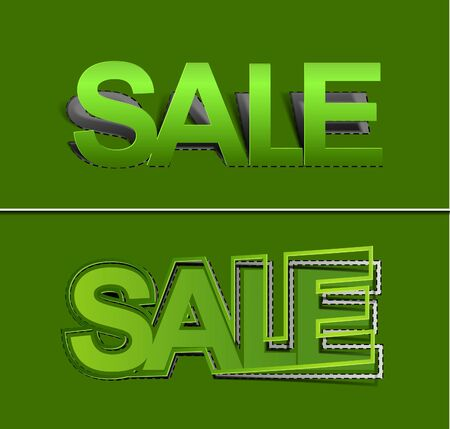Best summer offers for sale stickers design element.  Vector