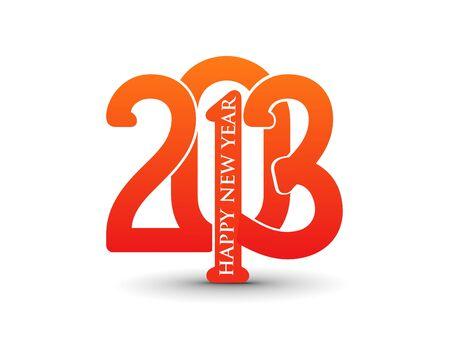 new year 2013 design  element. Stock Vector - 16107851