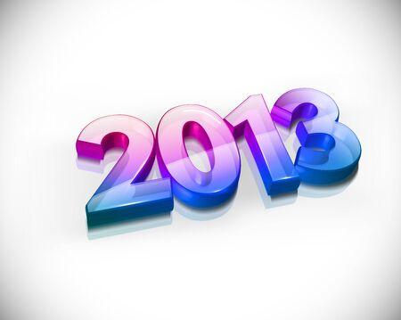 new year 2013 design element. Stock Vector - 16108174