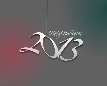 new year 2013 design element. Stock Vector - 16107861