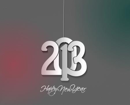 new year 2013 design  element. Stock Vector - 16107853
