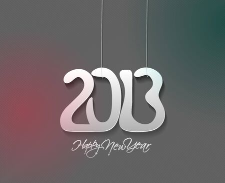 new year 2013 design  element. Stock Vector - 16107852