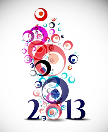 new year 2013 design element. Stock Vector - 16108122