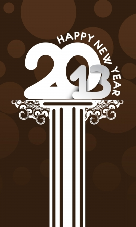 new year 2013 design  element. Stock Vector - 16107855