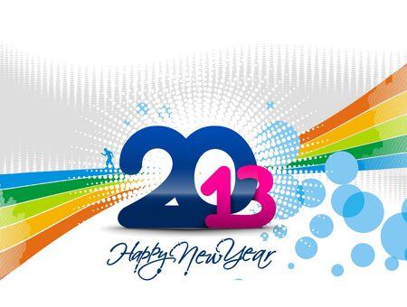 new year 2013 design element. Stock Vector - 16108067