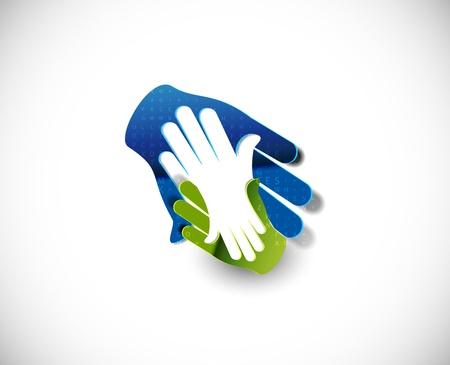 handshake icon: deal web icon design element.