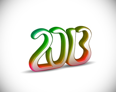 new year 2013 design element. Stock Vector - 16108078