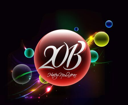New year 2013 background for new year poster design.  Stock Vector - 16107860