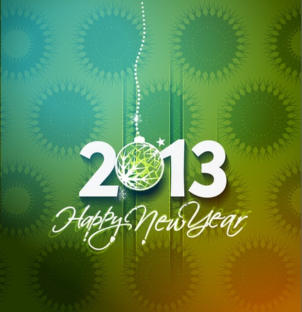 new year 2013 design element. Stock Vector - 16108070