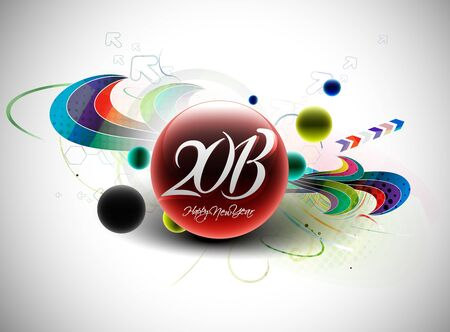 new year 2013 design element. Stock Vector - 16108173
