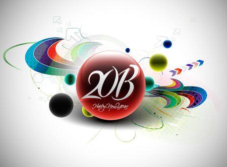 new year 2013 design element. Stock Vector - 16108173