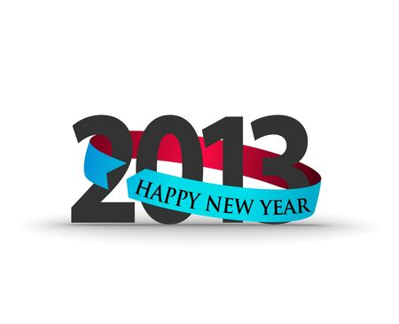 new year 2013 design  element. Stock Vector - 16107846