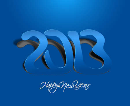 new year 2013 design  element. Stock Vector - 16107856
