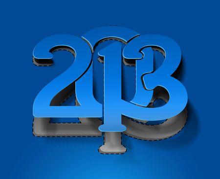 new year 2013 design element. Stock Vector - 16107970