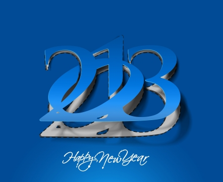 new year 2013 design element.