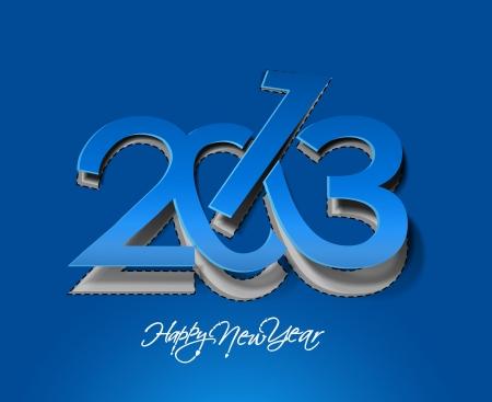 new year 2013 design element. Stock Vector - 16107857
