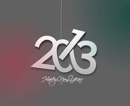 new year 2013 design  element. Stock Vector - 16107848