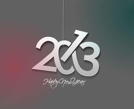 new year 2013 design  element. Stock Vector - 16107848
