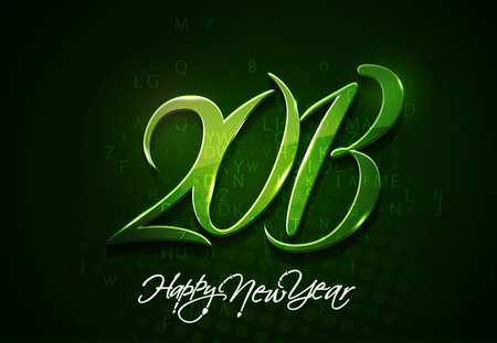 new year 2013 design element. Stock Vector - 16107959