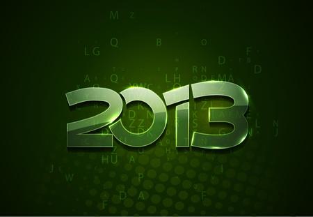 new year 2013 design element. Stock Vector - 16108065