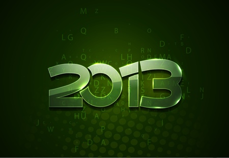 new year 2013 design element. Stock Vector - 16108065