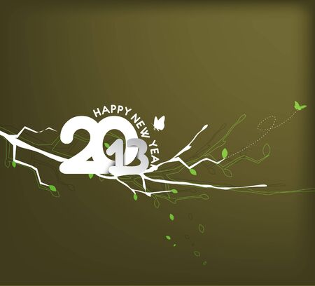 new year 2013 design element. Stock Vector - 16107969