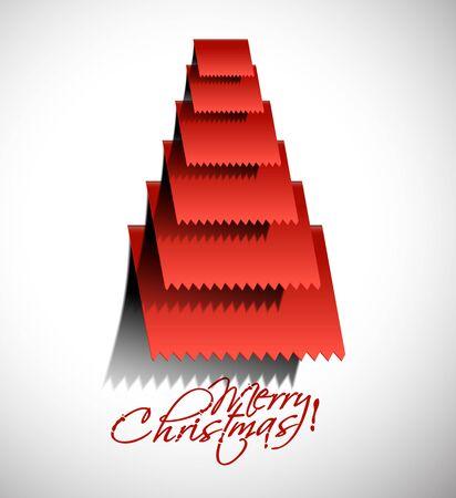 merry christmas tree design, illustration. Stock Vector - 16107964