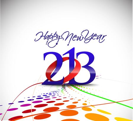 Happy new year 2013 celebration background for your posters design. Stock Vector - 16575024