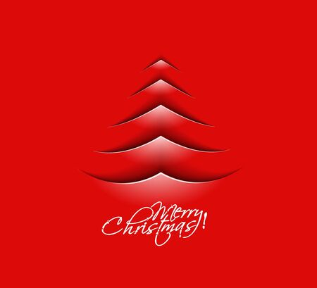 Modern christmas tree background, eps10 vector illustration  Stock Vector - 16577456