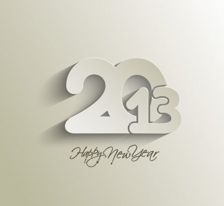 Happy new year 2013 celebration background for your posters design. Stock Vector - 16574994