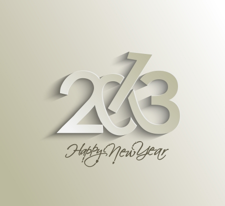 Happy new year 2013 celebration background for your posters design. Stock Vector - 16574986