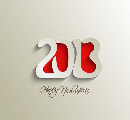 Happy new year 2013 celebration background for your posters design. Stock Vector - 16574992