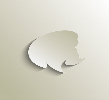 speech bubble vector deign element. Vector