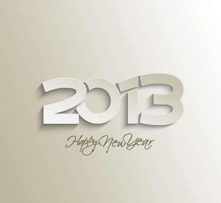 Happy new year 2013 celebration design. Stock Vector - 16818426
