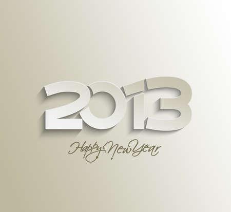 Happy new year 2013 celebration design. Stock Vector - 16818426