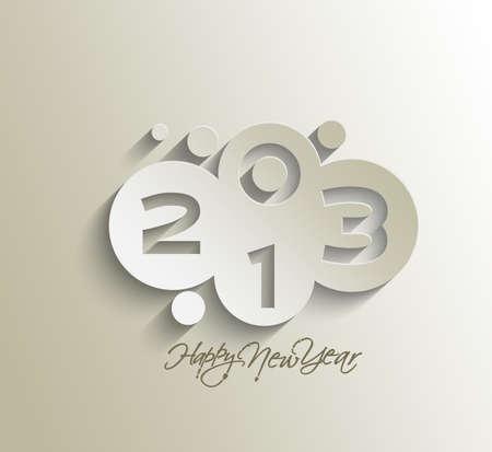 Happy new year 2013 celebration design. Stock Vector - 16818445