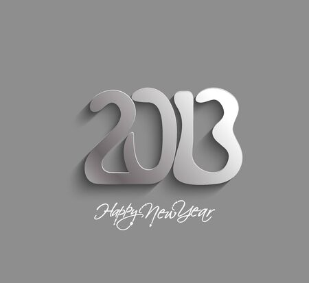 Happy new year 2013 celebration design. Stock Vector - 16818429